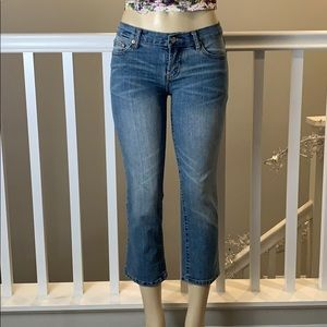 7 for All Mankind cropped jeans size 29